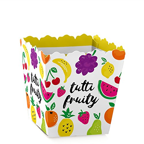 Price comparison product image Tutti Fruity - Candy Boxes Frutti Summer Baby Shower or Birthday Party Favors (Set of 12)