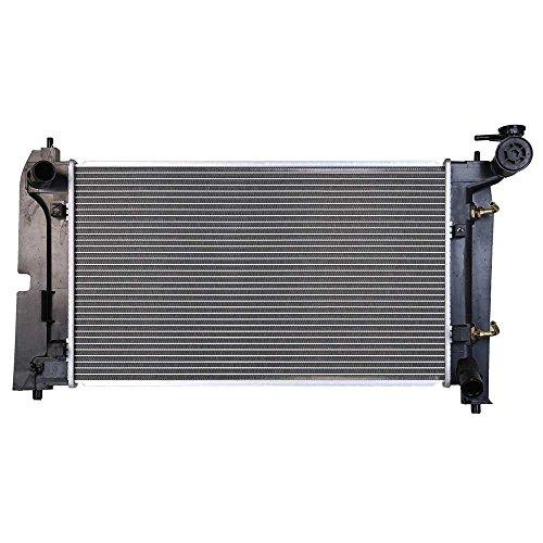 Prime Choice Auto Parts RK939 New Complete Aluminum Radiator ()