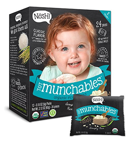 NOSH TOT Munchables Simply Rice, 6 Pack, 907g