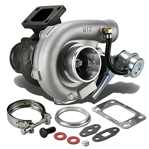 (T04E T3/T4 4-Bolt Manifold Flange Stage III Turbocharger with Internal Wastegate Turbine A/R .63)
