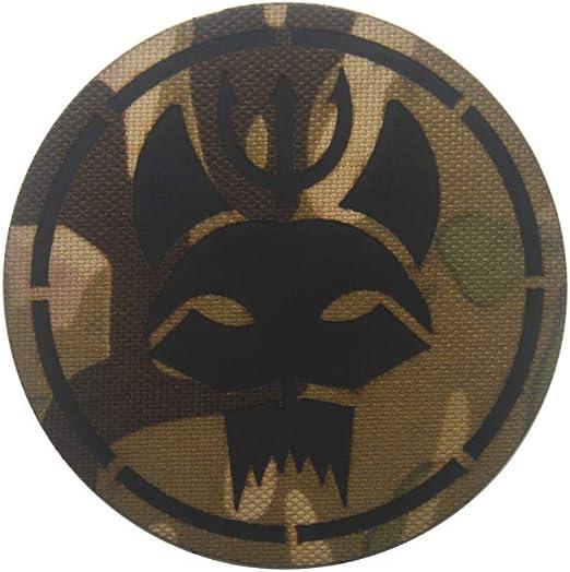 Ohrong Seal Team - Parche táctico infrarrojo con diseño de camuflaje reflectante para paintball militar, emblema con gancho y bucle: Amazon.es: Hogar