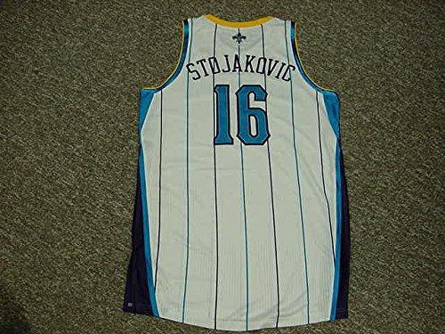 - Peja Stojakovic New Orleans Hornets 2010-2011 Home Game Worn Jersey