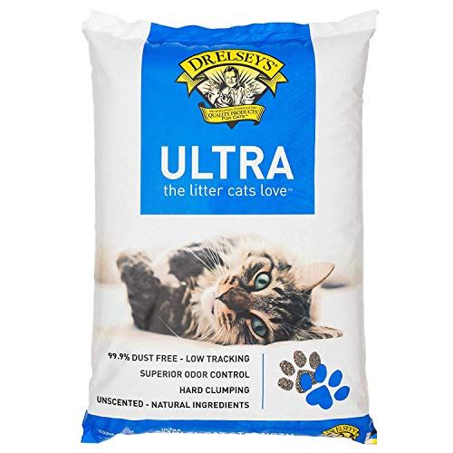 Dr. Elsey's Cat Ultra Premium Clumping Cat Litter (Pack May Vary) (2 Pack(40 Lb.))