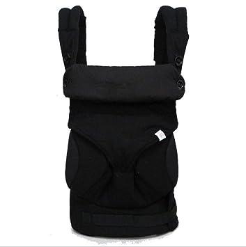 Mochila PortabebéS Ergonomicos Baby Carrier Ajustable Portadores Transpirable Portador De Bebé para Crecimiento De Bebé 3kg hasta 20kg,-Black: Amazon.es: ...