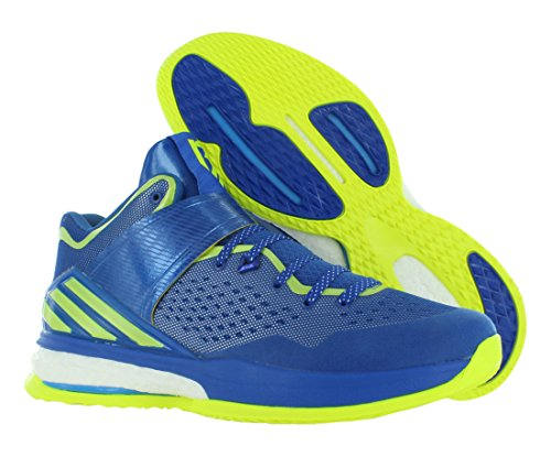 Adidas Menns C76733 Rg Iii Energi Boost Joggesko Blå / Lime