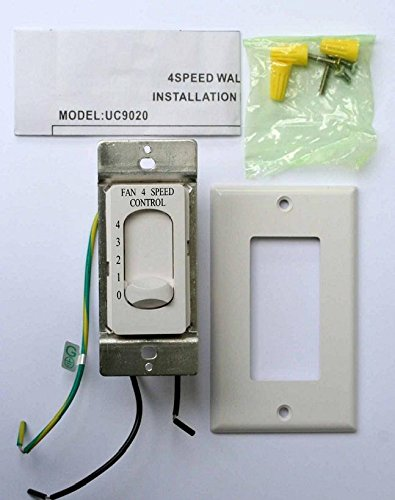 *new* rhine fan 4 speed control controller uc9020 new nib fan controller - fan  ceiling - - amazon com