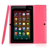 BTC Flame UK Quad Core 7' Tablet PC (8GB HDD, Google Android KitKat, HDMI, WIFI, USB, Bluetooth, res:1024x600) - Pink