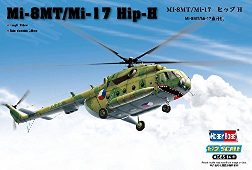 Hobby Boss Mi-8MT/Mi-17 Hip-H Airplane Model Building Kit