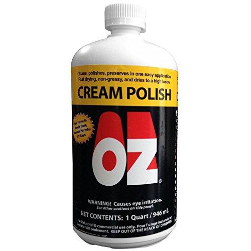 OZ Cream Polish - 32oz (Furniture Cream Polish compare prices)