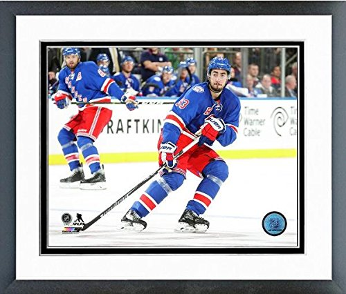 NHL Mika Zibanejad New York Rangers Action Photo (Size: 12.5