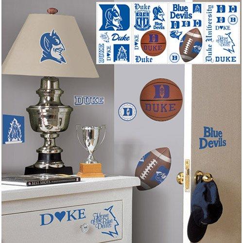 Roommates Duke Blue Devils Wall Stickers