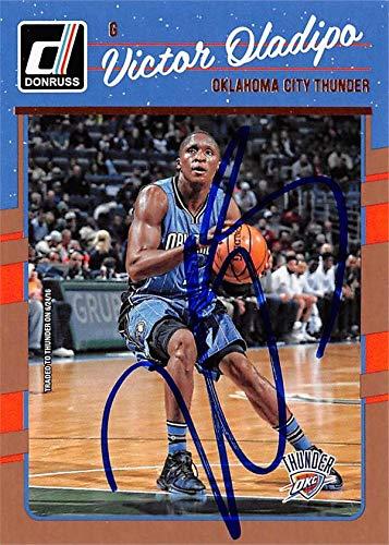 san francisco a84bb f7623 Amazon.com: Victor Oladipo autographed Basketball Card ...