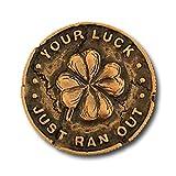 Nerd Block Leprechaun Gold Coin Collector Pin