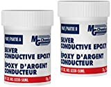 MG Chemicals Silver Epoxy Adhesive, Moderate Cure/Extreme Conductivity, 157 g, 2-Part Epoxy Kit