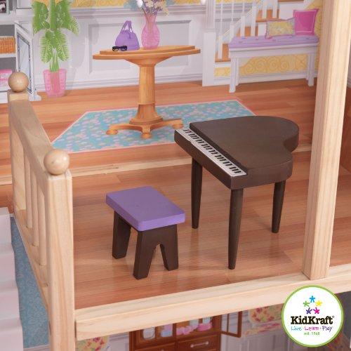 51zQDlqhJ6L - KidKraft So Chic Dollhouse with Furniture