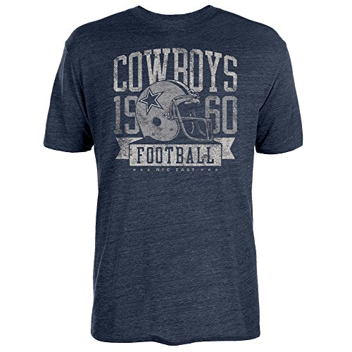 Dallas Cowboys Men's Big & Tall Distressed Print Team T-Shirt (XLT)