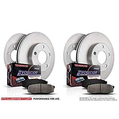 Autospecialty KOE1438 1-Click OE Replacement Brake Kit: Automotive