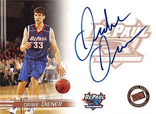 Drake Diener autographed Basketball Card (DePaul) 2005 Press Pass Rookie - Autographed College Cards ()
