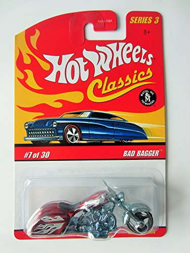 Classic Bagger (Mattel Hot Wheels Classics Series 3 Bad Bagger #7 of 30)