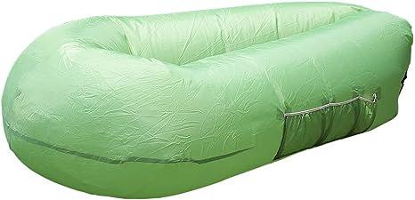 Amazon.com: Tumbona inflable portátil sofá cama saco de ...