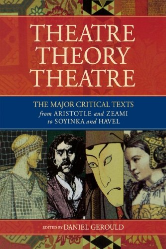 Theatre/Theory/Theatre (Applause Books)