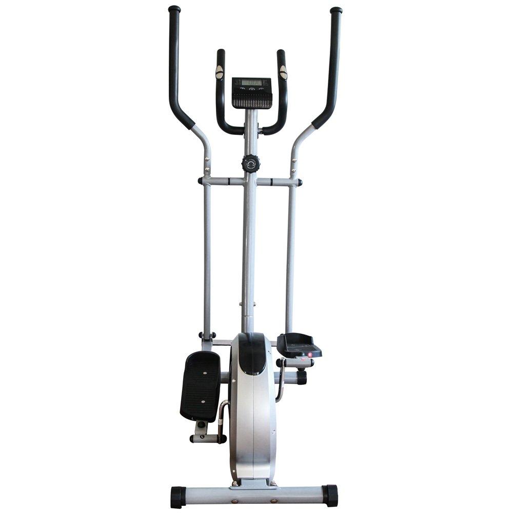 Máquina de ejercicios 6 en 1 de Fitnessform® modelo T130, bicicleta estática, elíptica, pesas: Amazon.es: Deportes y aire libre