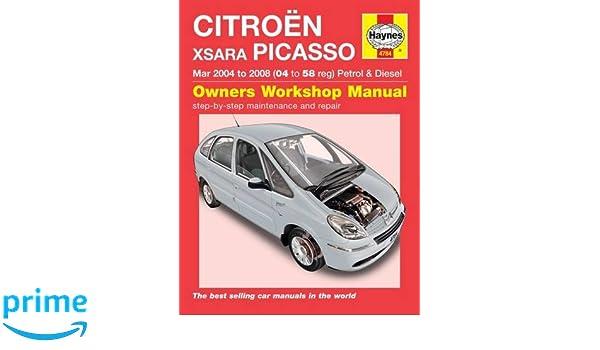 Citroen Xsara Picasso: Amazon.es: Haynes Publishing: Libros en idiomas extranjeros