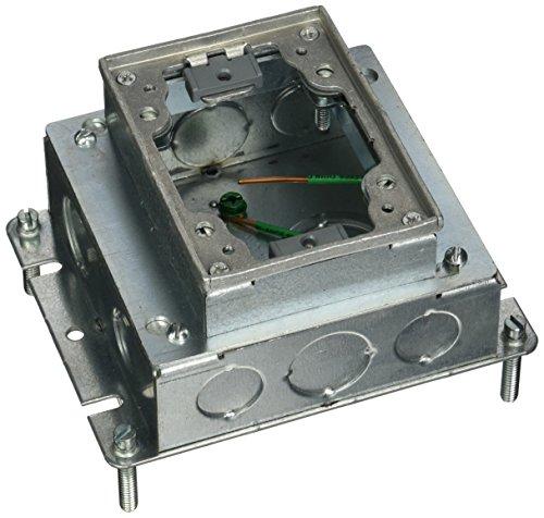 Hubbell Rectangular Floor Box - 8