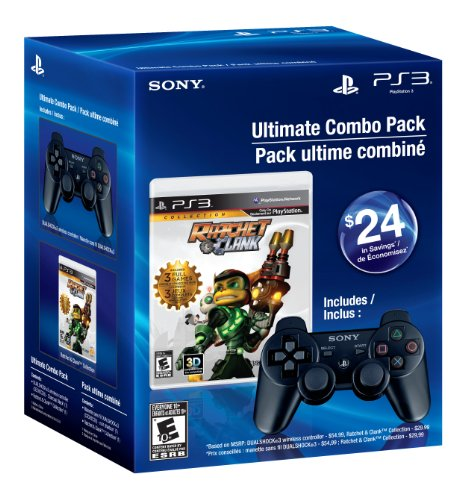 (Ultimate Combo Pack - Ratchet & Clank Collection & Black Dualshock 3 - Playstation)