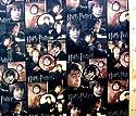 キャラクター生地・USAコットン・ハリーポッター(黒・ポスター)#4の商品画像