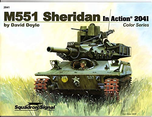 Squadron Signal Publications M551 Sheridan in Action for sale  Delivered anywhere in USA