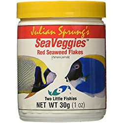 Two Little Fishies SeaVeggies Flakes, 30gm, Red