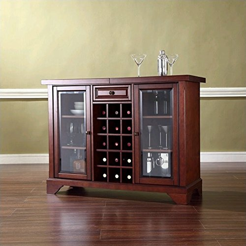 wine cabinet with sliding top - 1