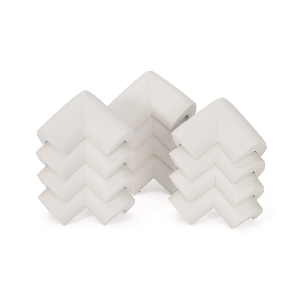 Baby Safety Corner Guards, Innobeta Child Safety Series 12pcs of Extra Thick Soft Safety Corner Protectors Guards, Table Corner Guards for Child and Baby, Anti-crash Security Pack. Attached with a Free Gift.(White)