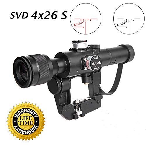 Sniper SVD Dragunov Rifle Scope SVD 4x26S (Airsoft Dragunov Scope Mount)