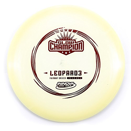 (Innova Champion Glow Leopard3 Fairway Driver Golf Disc [Colors May Vary] - 165-169g)