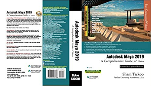 Autodesk Maya 2019: A Comprehensive Guide: Prof  Sham