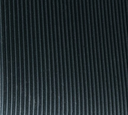 Corrugated Switchboard Mat 3' Width x 4' Length x 1/4'' Thickness, Type II Class 2, Black by American Floor Mats (Image #1)