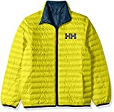 Helly Hansen Jr Barrier Down Insulator Jacket, Sweet Lime, Size 10
