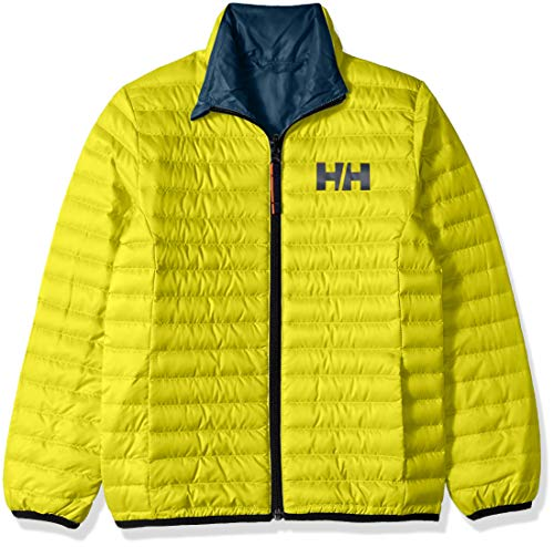 Helly Hansen Jr Barrier Down Insulator Jacket, Sweet Lime, Size 8 by Helly Hansen (Image #1)