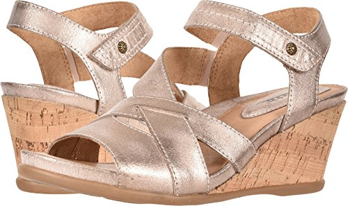 Earth Women's Thistle Pink Metallic Suede 7 B US