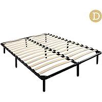 Metal Bed Frames Bentwood Structure Platform Mattress Base Bedrooms