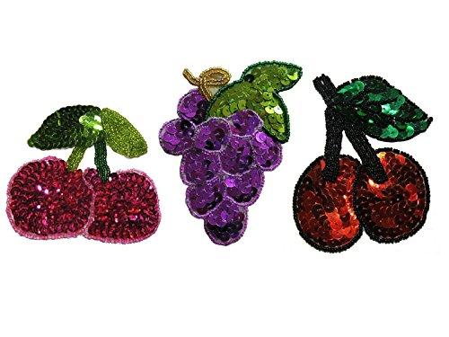 grape applique - 1