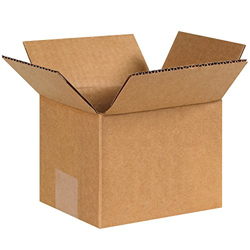 "Aviditi 654 Corrugated Boxes, 6"" x 5"" x 4"", Kraft (Pack of 25) from Aviditi"