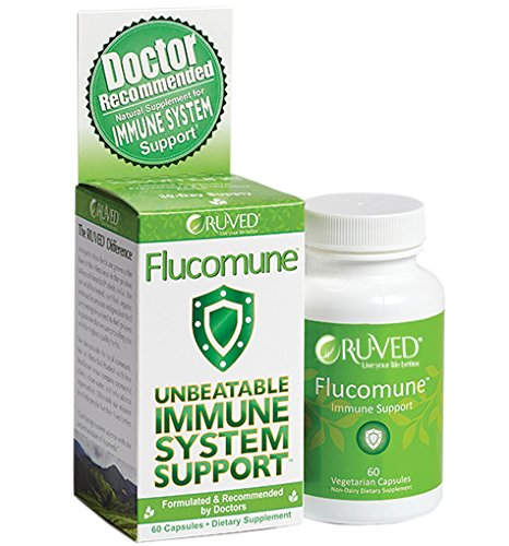 RUVED Flucomune Unbeatable Immune System Support, 60 capsules