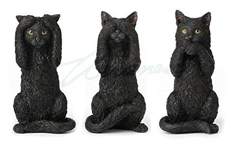 - Veronese Design Black Kittens