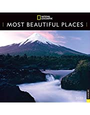 National Geographic: Most Beautiful Places 2022 Wall Calendar