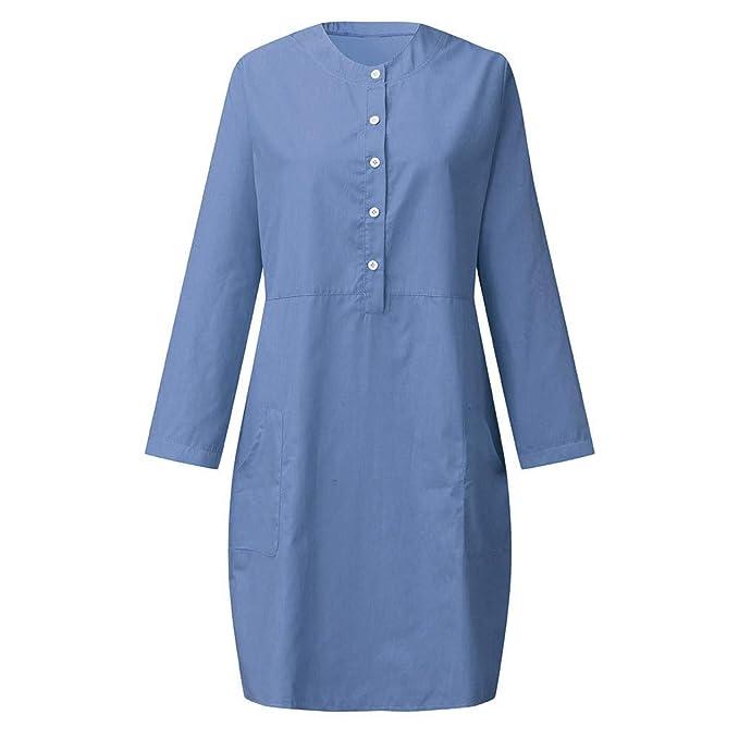 Amazon.com: TOTOD vestido de verano para mujer, vestido de ...