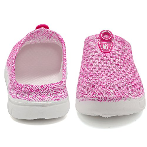 Sandals welltree Clog Men's Unisex Women's Shoes Quick Drying Garden Slippers Pink xzaqFA