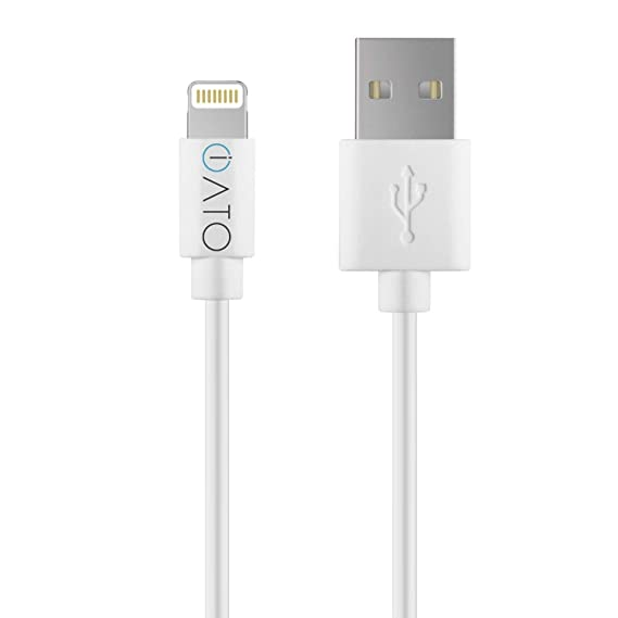 iATO Lightning to USB Cable - Apple Mfi Certified Fast Strong Reliable Charging Lead for iPhone XR, XS Max, XS, X / 10, 8 7 6s 6 & Plus, SE 5s 5c 5, ...